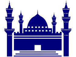 Mosque clipart simple