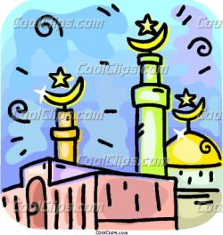 Minarets clipart