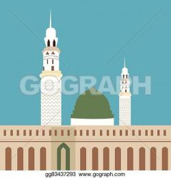 Minarets clipart mosque dome