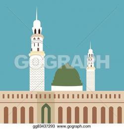 Veil clipart mosque minaret
