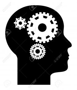 Gears clipart human mind