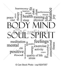 Mind clipart body and soul
