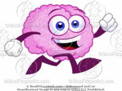Brains clipart smart brain