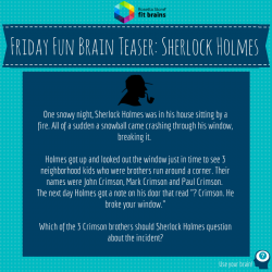 Sherlock Holmes clipart riddle