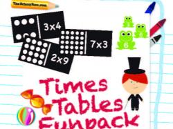Mindteaser clipart times table