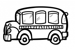 Sketch clipart bus