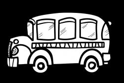 Sketch clipart bus