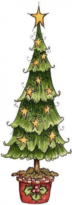 Miniature clipart christmas tree
