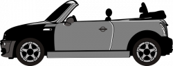Mini clipart convertible