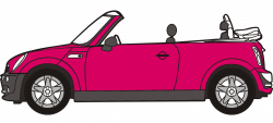 Vehicle clipart convertible car