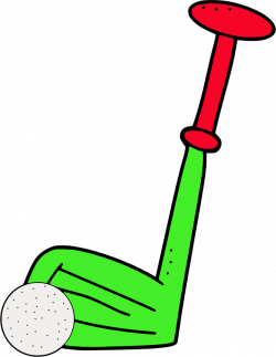 Club clipart mini golf