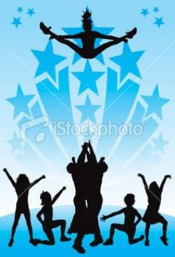 Stunt clipart cheer competition