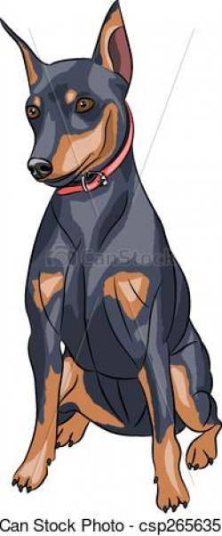 German Pinscher clipart