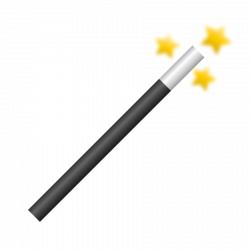 Magician clipart magic wand