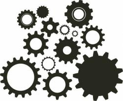 Gears clipart gear wheel