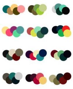 Misc clipart color palette