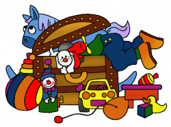 Game clipart toy chest