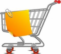 Misc clipart supermarket cart