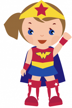 Super Girl clipart female superhero