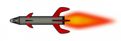 Missile clipart vector