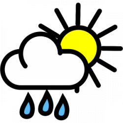 Thunder clipart climate and weather