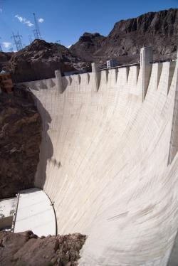 Mist clipart hoover dam