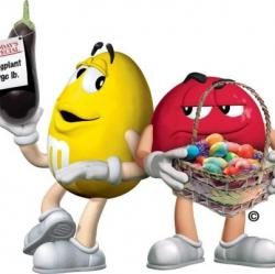 M&m's clipart gangster