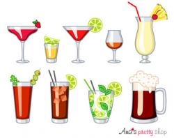 Mojito clipart alcohol shot