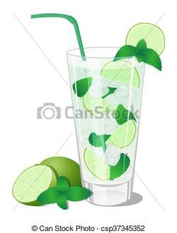 Mojito clipart lime