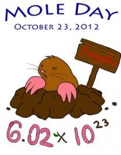 Mole clipart chemistry project