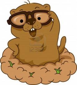 Mole clipart happy
