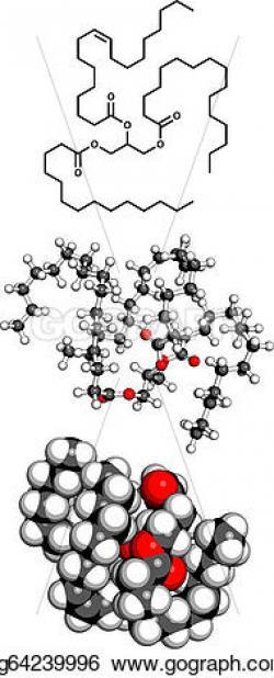 Molecule clipart butter