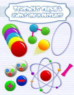 Molecule clipart chemistry science