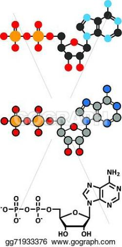 Molecule clipart energy