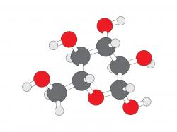 Molecule clipart glucose