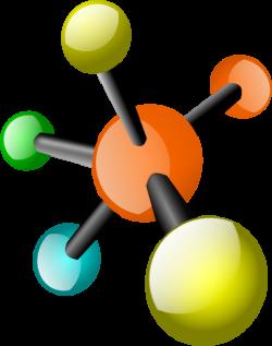 Molecule clipart large