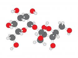 Molecule clipart table sugar