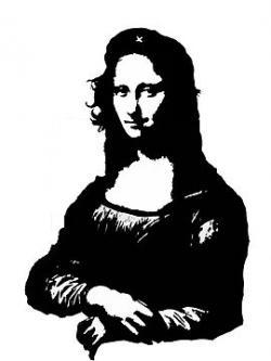 Mona Lisa clipart artist
