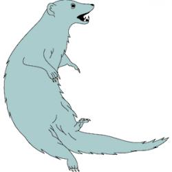 Mongoose clipart cartoon