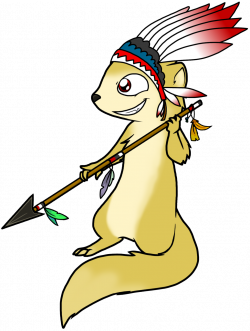 Mongoose clipart indian
