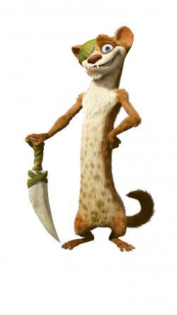 Weasel clipart ott