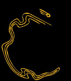 Monitor Lizard clipart newt