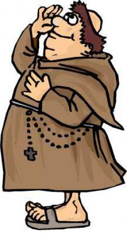 Monk clipart animated