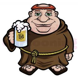 Monk clipart beer