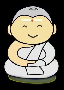 Buddha clipart cartoon