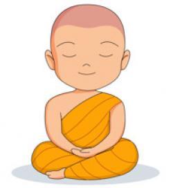 Monk clipart buddhist monk