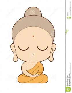 Buddha clipart cute