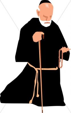 Monk clipart clergy