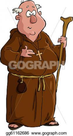 Monk clipart medieval man