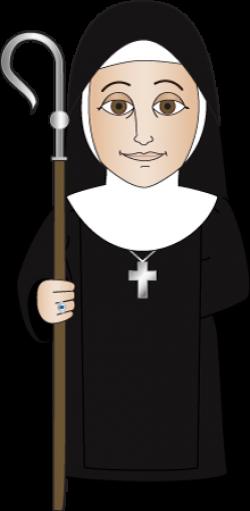 Monk clipart nun